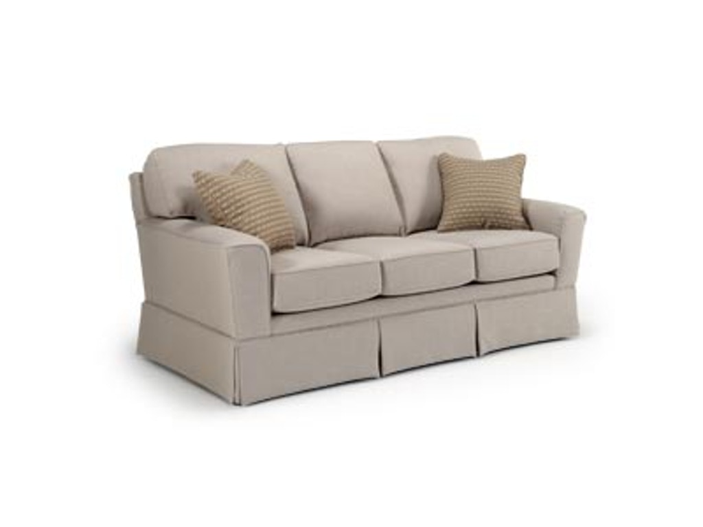 Best Home Furnishings Living Room Upholstered Sofa Upsobcs81ska American Factory Direct