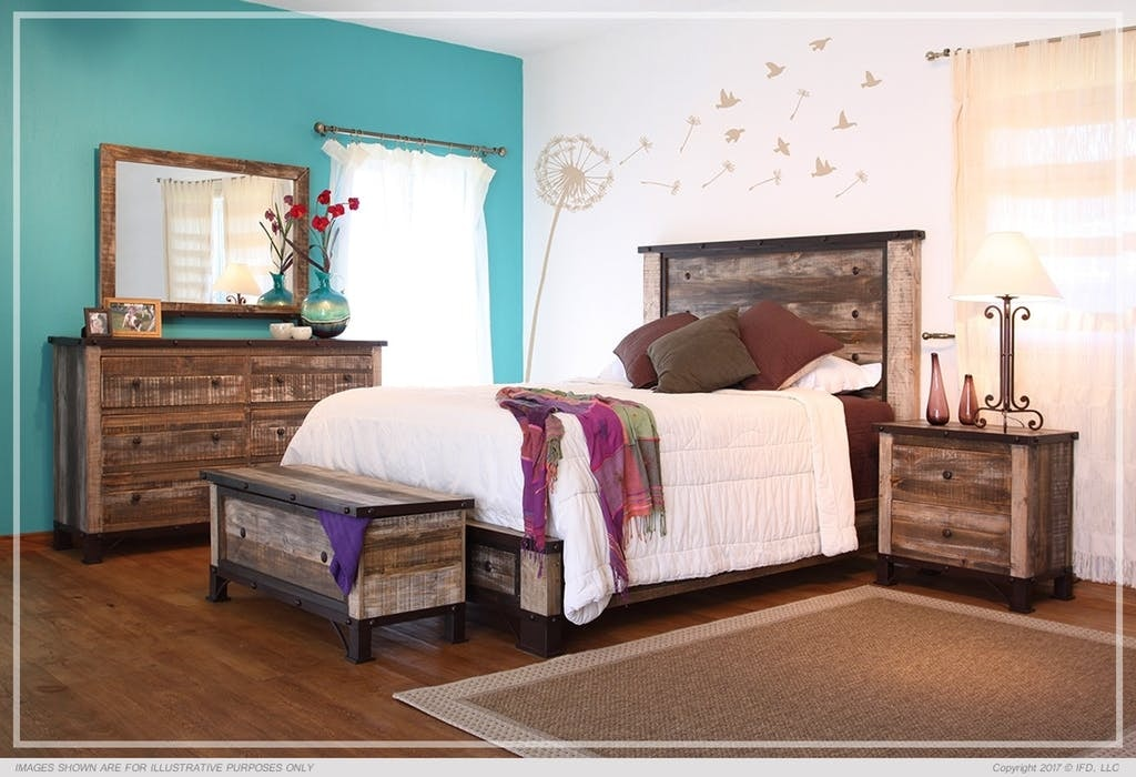 International Furniture Bedroom Antique Collection American