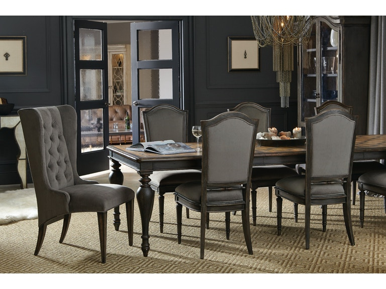 Hooker Furniture Living Room ARABELLA DINING TABLE AND SIDE CHAIRS - Arabella coffee table