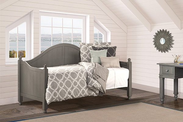 Hillsdale Furniture Bedroom AUGUSTA STONE DAYBED BDPKHH1921A At American  Factory Direct