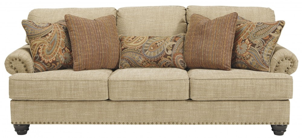 Beau Ashley Candoro Oatmeal Sofa By Benchcraft UPSOAS118638