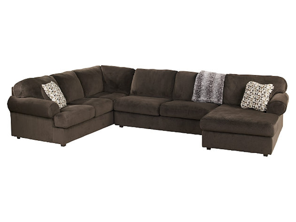 Ashley Furniture Industries Living Room Upholstered Sectional Uppkas39802b American Factory