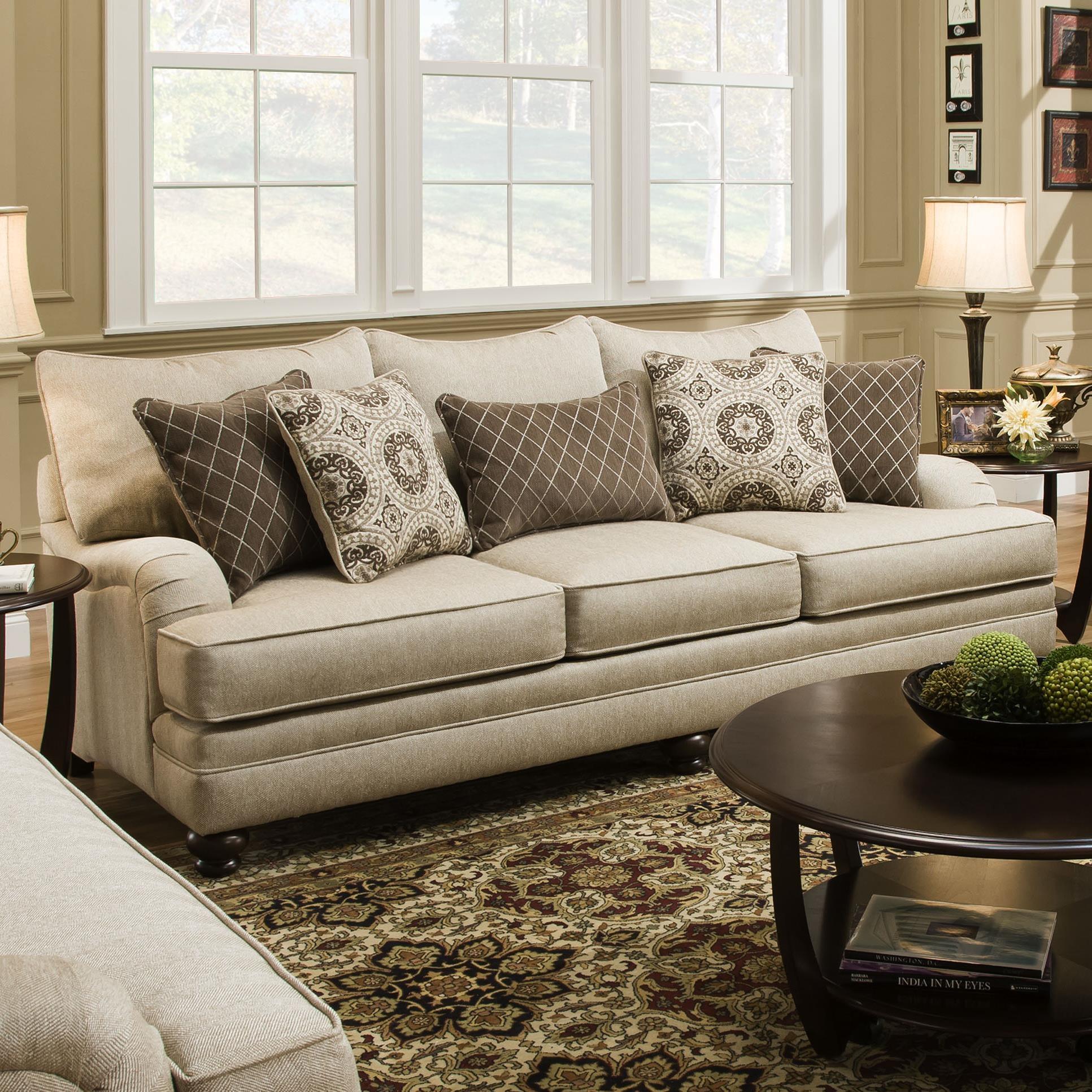 AFD Furniture OVER SIZED SOFA UPCRCOAC190A