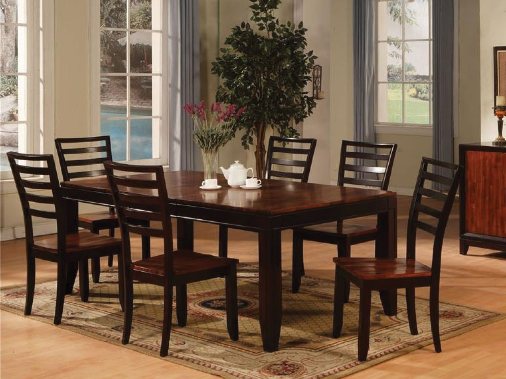 Holland House Dining Room Dining Table U0026 4 Side Chairs DIPKHH1267A At  American Factory Direct