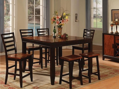 Holland House Dining Table & 4 Side Chairs DIPKHH1267B