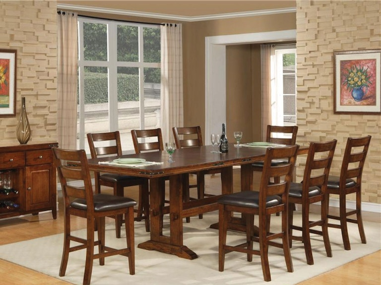 Holland House Dining Room Pub Table & 4 Counter Chairs DIPKHH1268A ...