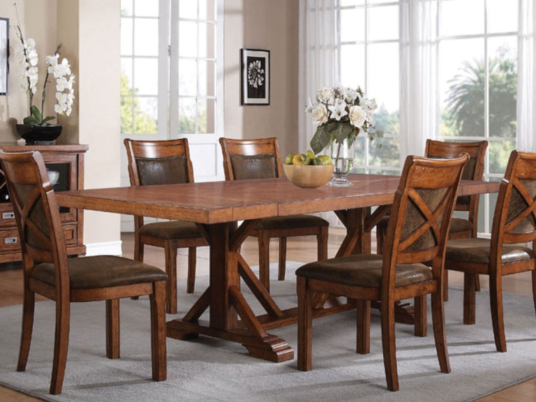 Holland House Dining Room Table 4 Side Chairs DIPKHH1288A At American Factory Direct
