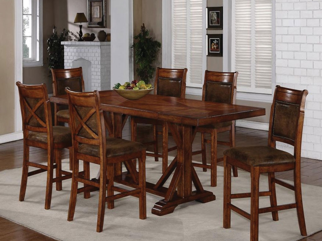 Holland House Dining Room Pub Table U0026 4 Chairs DIPKHH1288B At American  Factory Direct