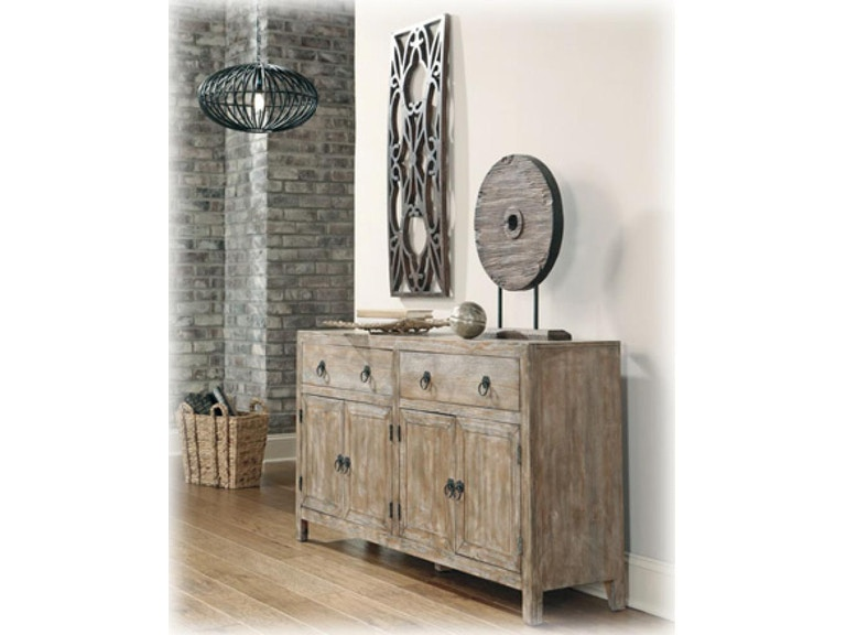 ASHLEY FURNITURE INDUSTRIES ACCENT CABINET OACAAS500360