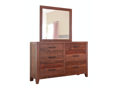 International Furniture Direct 6 DRAWER DRESSER BDDRIF770DSR
