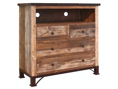 International Furniture Direct CHEST-TV BDCHIF966CTV