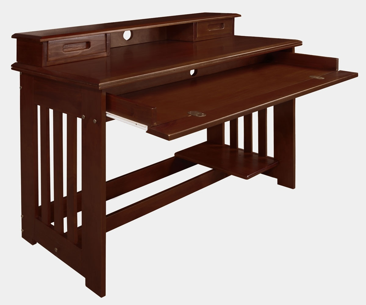 Charmant Discovery World Furniture STUDENT DESK MERLOT