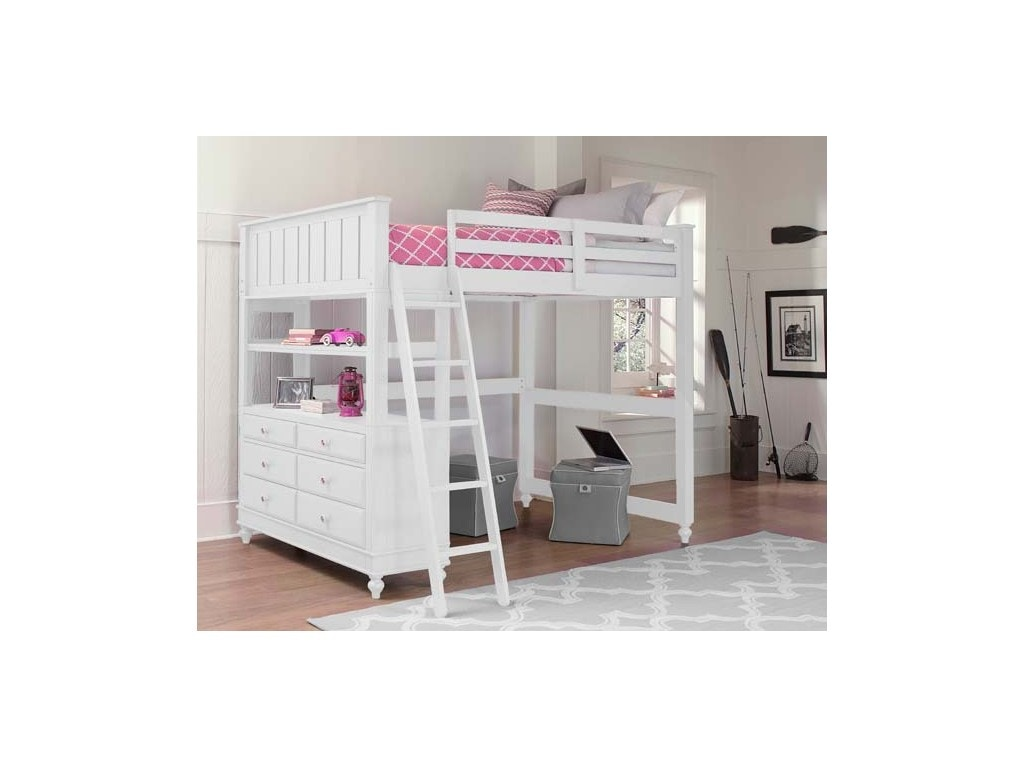 Hillsdale Furniture Full Loft Bed Combination JUPKHH2045A
