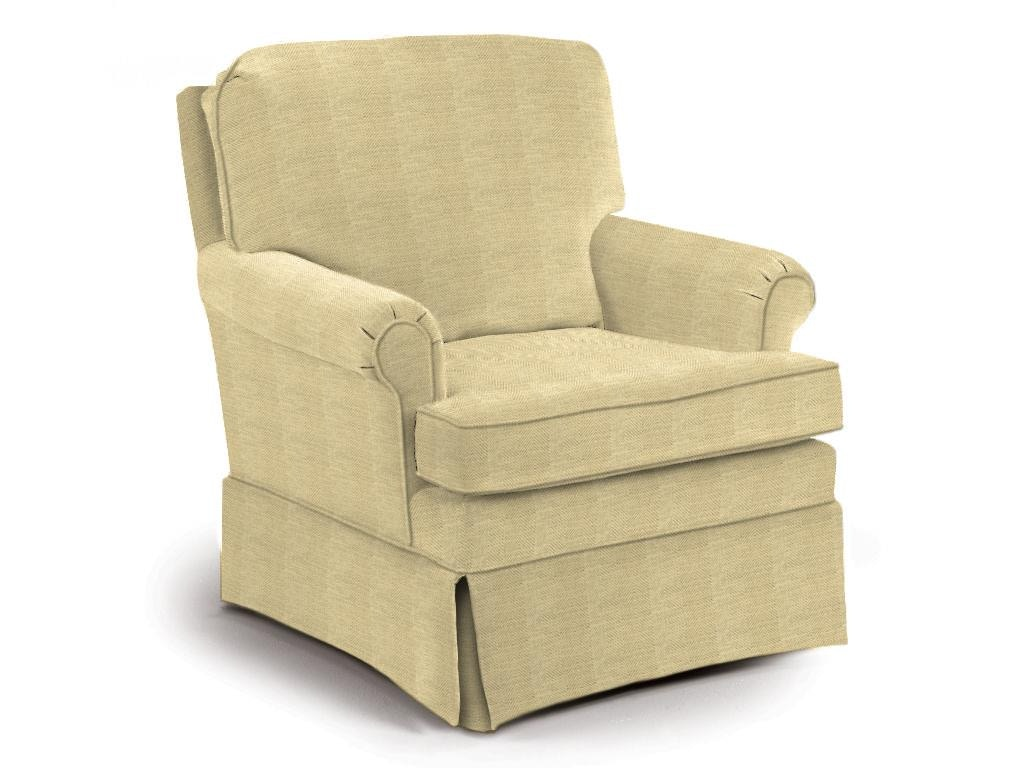 Best Home Furnishings SWIVEL ROCKER CHAIR OACRBC2619A