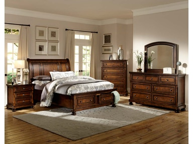 LG Interiors 4 PIECE BEDROOM GROUP PORTLAND