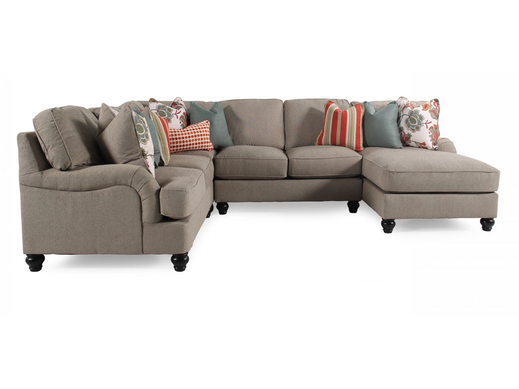Ashley furniture industries living room sectional uppkas263a american factory direct baton for Chaise factory rouge