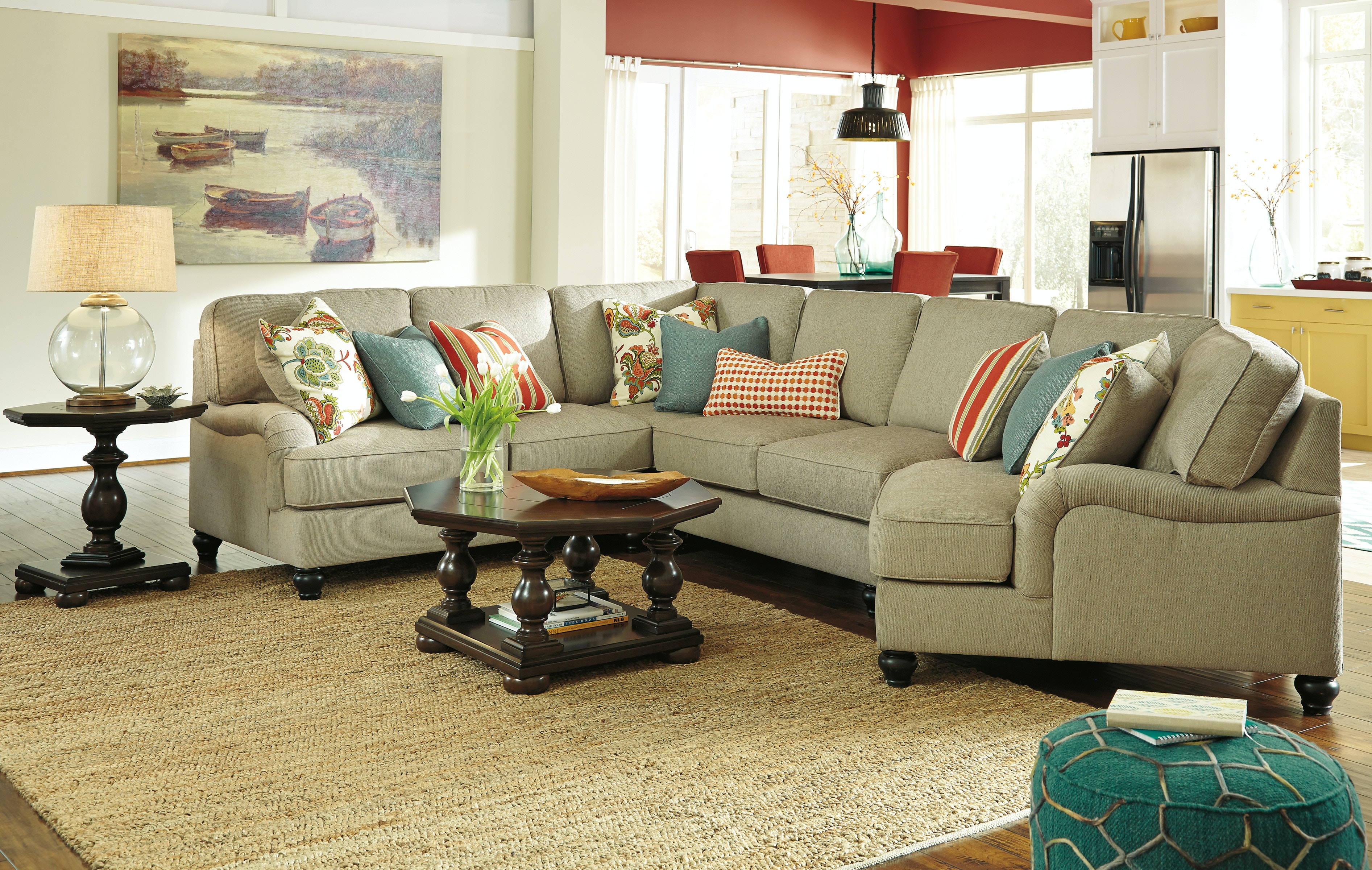 ASHLEY FURNITURE INDUSTRIES SECTIONAL UPPKAS263A
