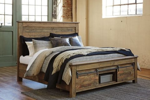 Ashley Sommerford Storage Bed Bdpkasb775