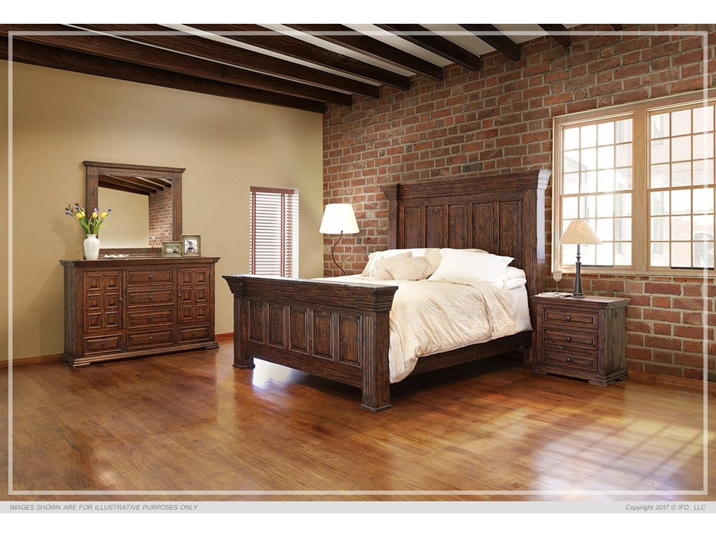International Furniture Bedroom Terra Dark Collection American Factory Direct Baton Rouge La