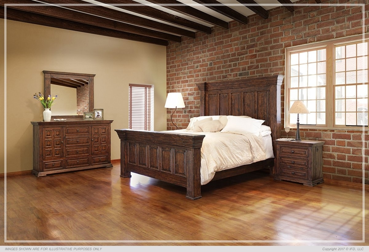 International Furniture Bedroom TERRA DARK COLLECTION At American Factory  Direct