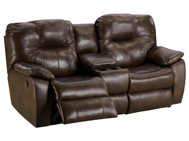 Southern Motion SOFA WITH CONSOLE & POWER HEADREST MTSOSM84378