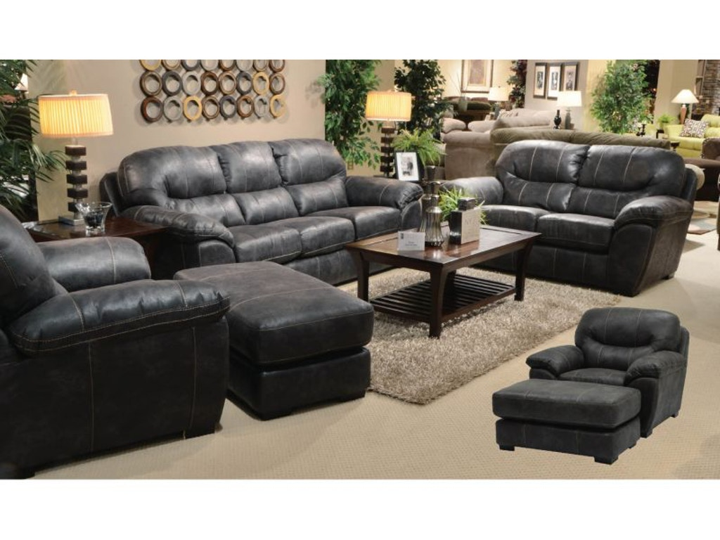 Jackson Furniture Living Room Grant Sofa Chair And Ottoman
