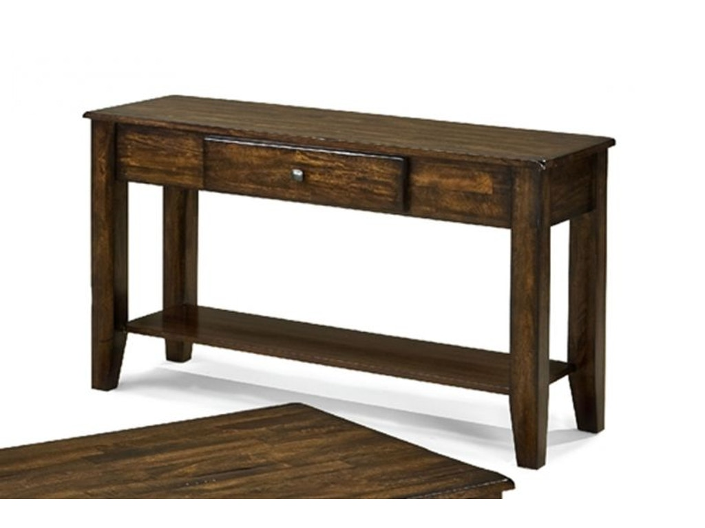 Craft design living room kona sofa table occ sotb kona for Table design odessa fl