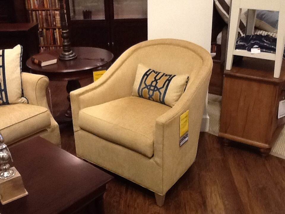 Charming Clearance Thomasville Collection Sofa And Chair Sofa Was: $3749.00 Chair  Was: $1789 NOW 1299.00