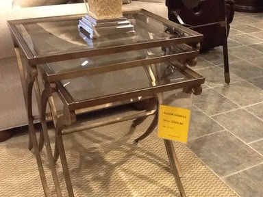 Clearance Thomasville Classic Stack Tables Was: $1739 82291-245