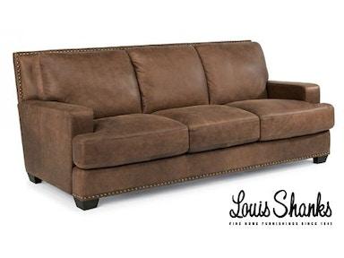 Flexsteel Furniture Louis Shanks Austin San Antonio TX - Leather sofa san antonio