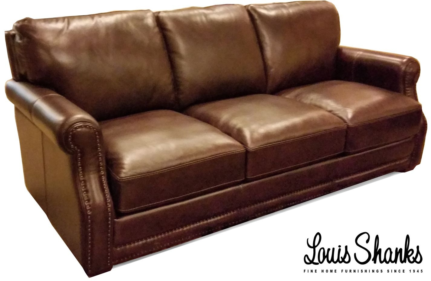 Flexsteel Living Room Chandler Leather Sofa 1365-31 - Louis Shanks