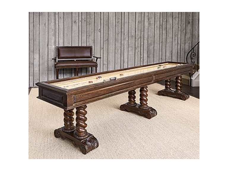 Ambella home bar and game room castilian shuffleboard for Home bar furniture in san antonio