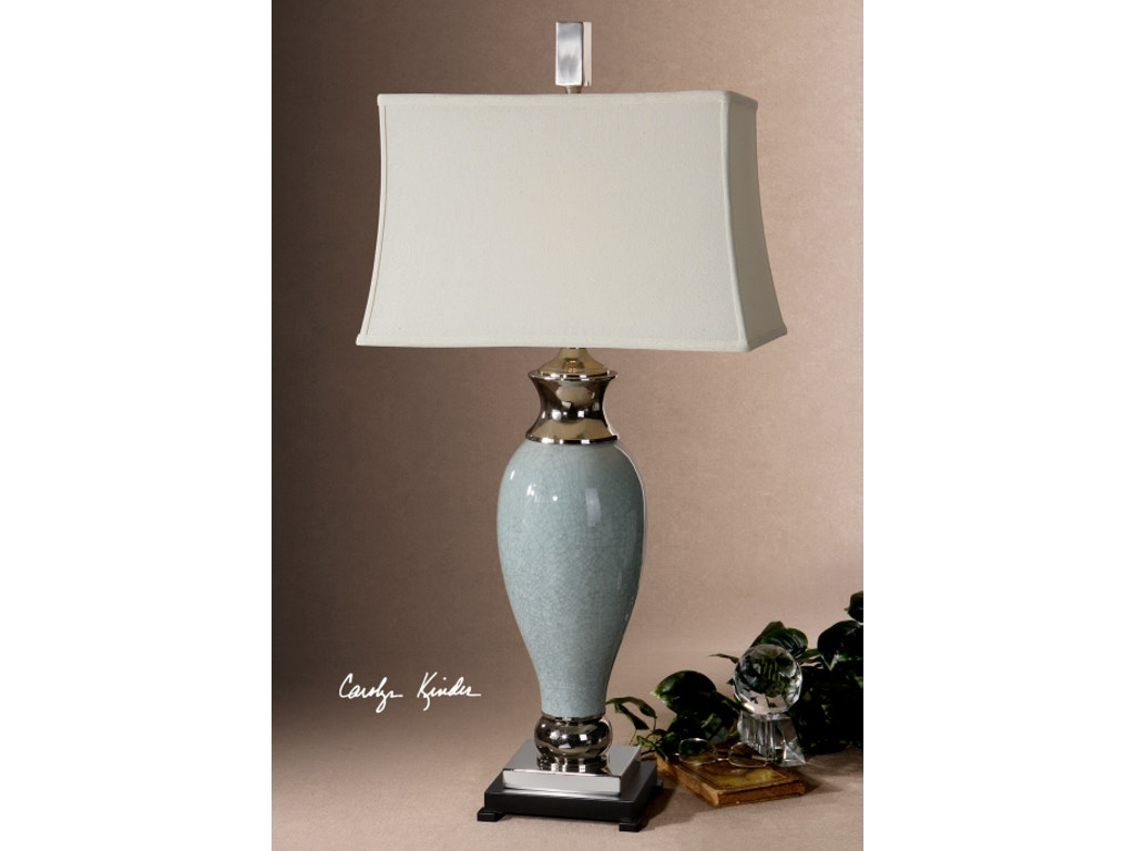 Uttermost accessories rossa table lamp 26783 louis for Table lamps austin tx