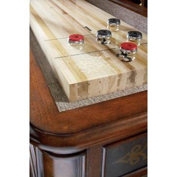 Ambella Home Elegant Scroll Shuffleboard Table   12u0027 29000 935 012