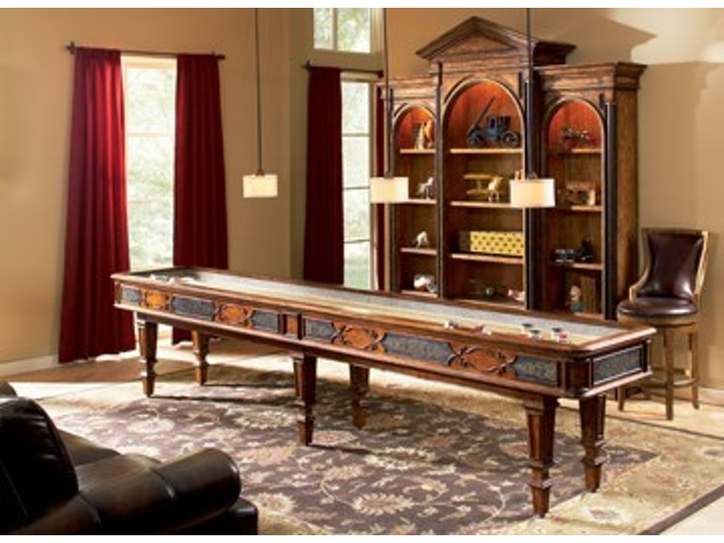 Ambella Home Bar And Game Room Elegant Scroll Shuffleboard Table 12 39 29000 935 012 Louis