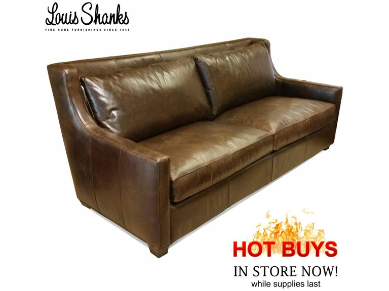 Southern Furniture Company Salina Leather Sofa 32017 X