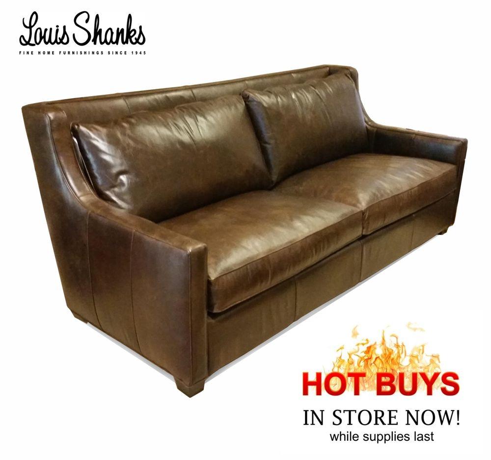 Southern Furniture Company Salina Leather Sofa 32011 X