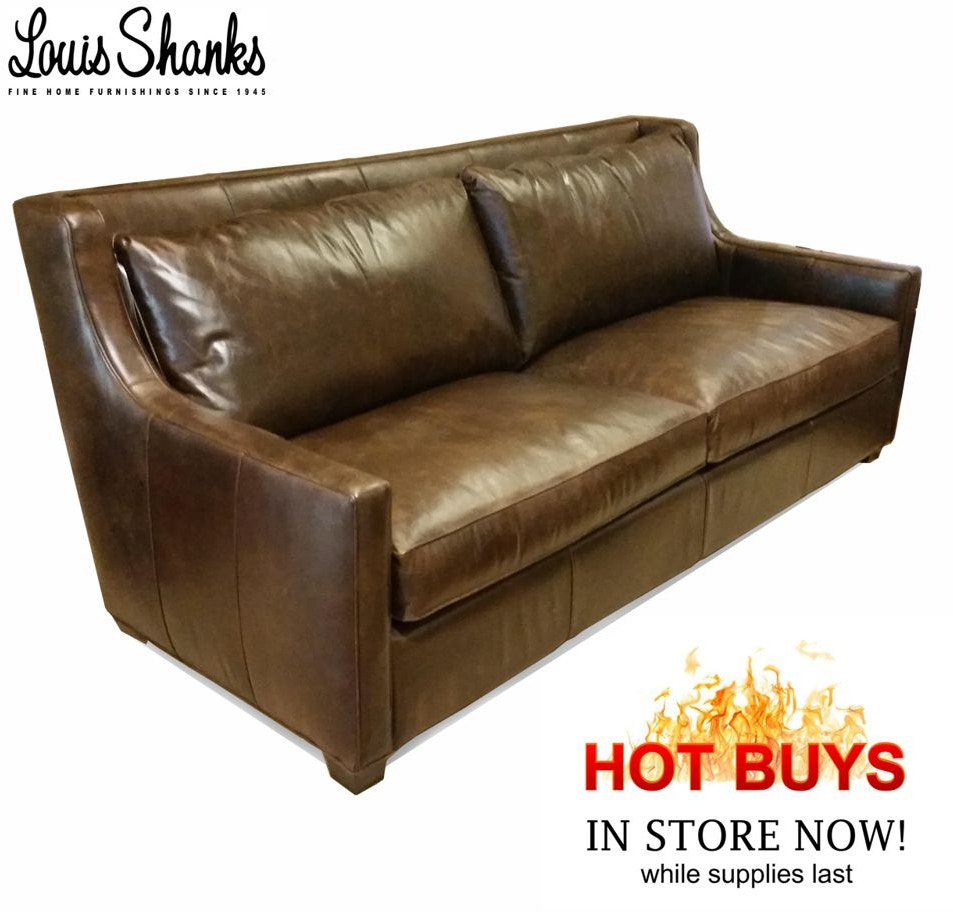 Living Room Sofas Louis Shanks Austin San Antonio Tx ~ Pure Leather Sofa Price