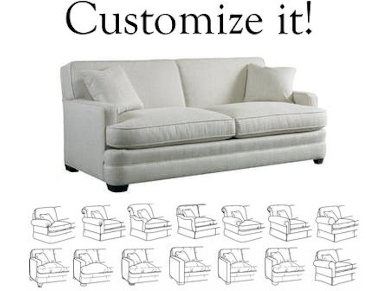 Sherrill Furniture Living Room Design Your Own Sofa 9600-sofa ...