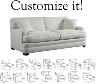Sherrill Furniture Design Your Own Sofa 9600-sofa