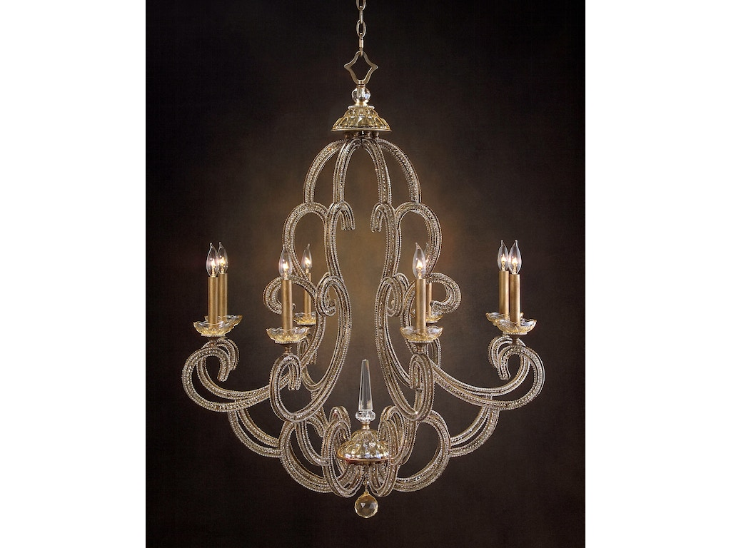 John richard lighting john richard collection agate sliced 15 light john richard dining room paris eight light chandelier ajc 8679 arubaitofo Gallery