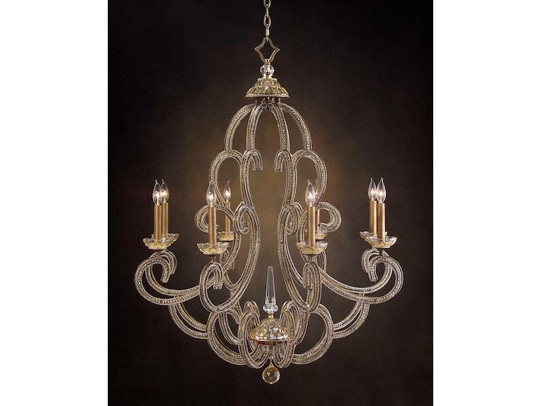 John richard dining room paris eight light chandelier ajc 8679 john richard paris eight light chandelier ajc 8679 mozeypictures Gallery