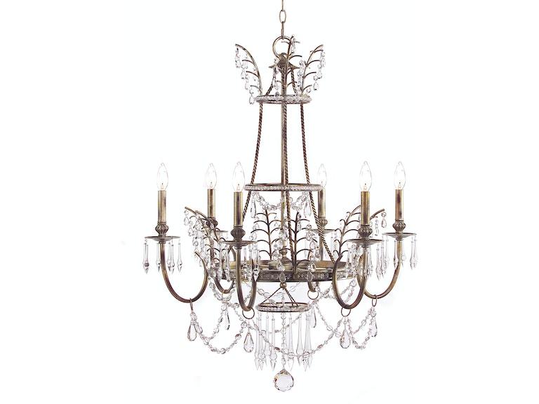 John richard dining room versailles six light chandelier ajc 8756 john richard versailles six light chandelier ajc 8756 mozeypictures Gallery