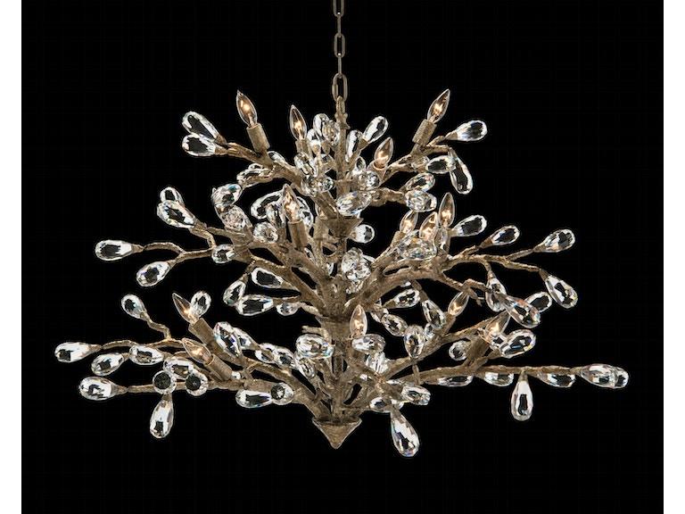 John richard dining room budding crystal sixteen light chandelier john richard budding crystal sixteen light chandelier ajc 8849 mozeypictures Image collections