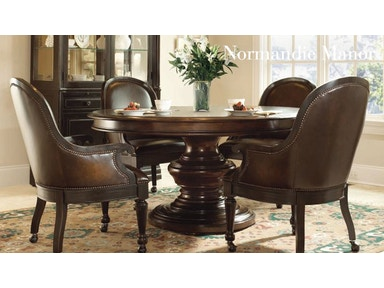 Bernhardt Close Out Normandie Manor Round Dining Table.