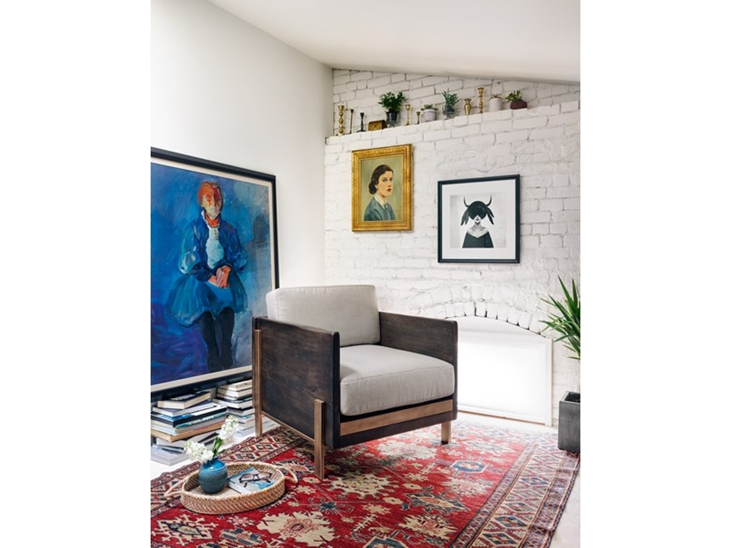 Four Hands Living Room Woodrow Arm Chair UWES-074 - Louis Shanks ...
