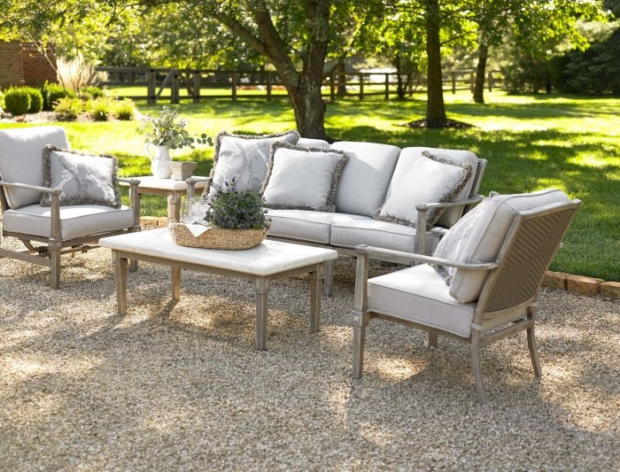 Cottage Charm With This Elegant Collection. Set Includes (2) Hidden Motion  Spring Chairs