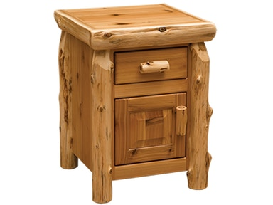 Cedar Enclosed Nightstand