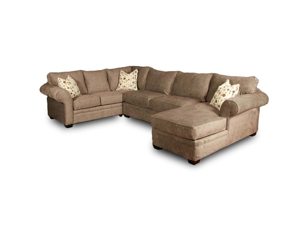 Intermountain Furniture Living Room Fabric Sectional 1216 Mountain Comfort Furnishings