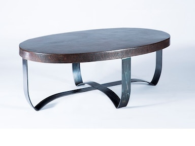 The Strap Copper Coffee Table